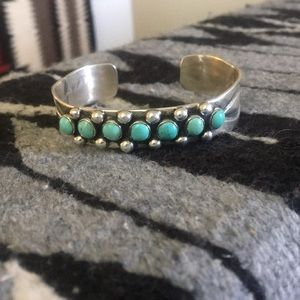 Jewelry - Wonderful turquoise and sterling silver bracelet
